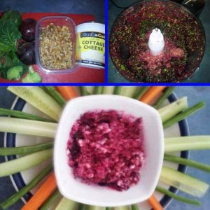 Deb from Shedfit shares her healthy Beetroot & Walnut Dip recipe